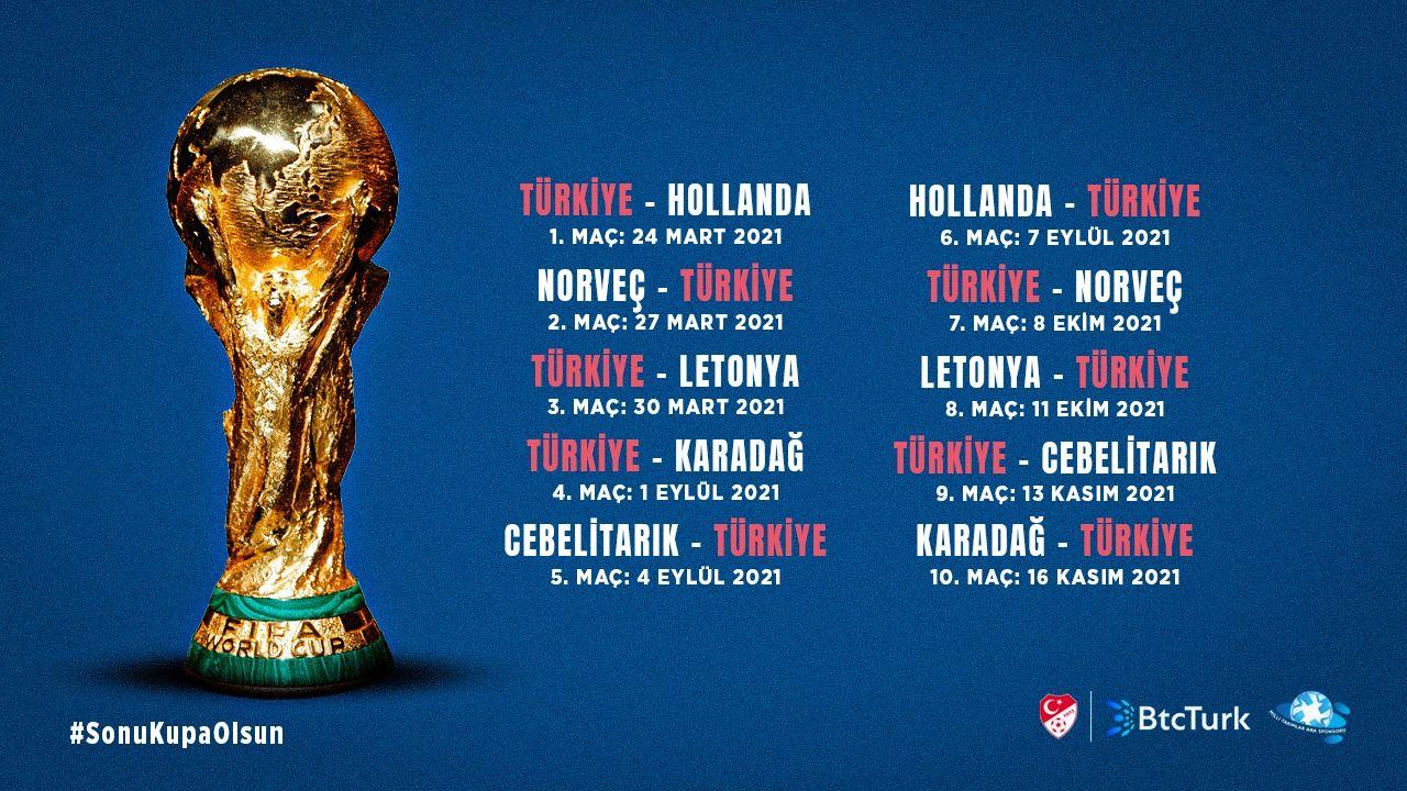 #Sonu Kupa Olsun - Dünya Kupası Eleme Grubumuz