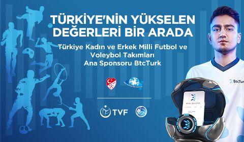 Türkiye'nin yükselen değerleri bir arada